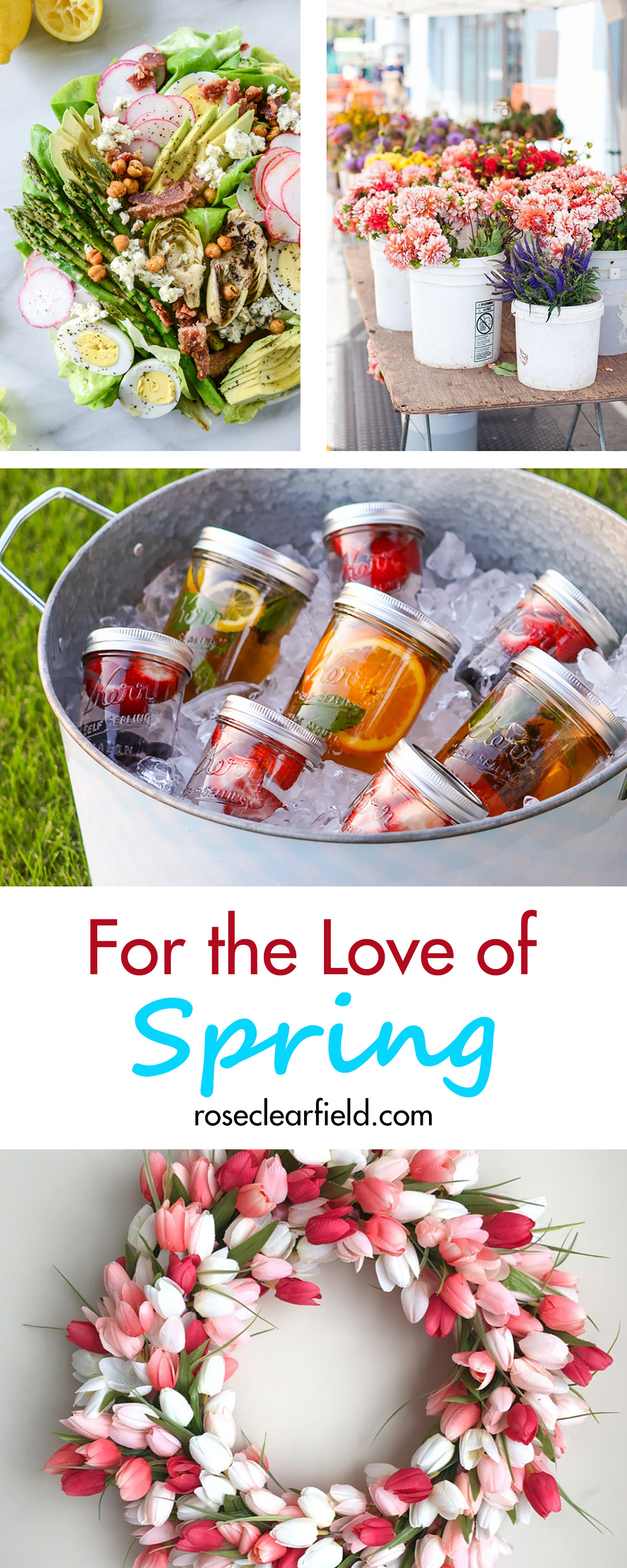 For the Love of Spring | http://www.roseclearfield.com