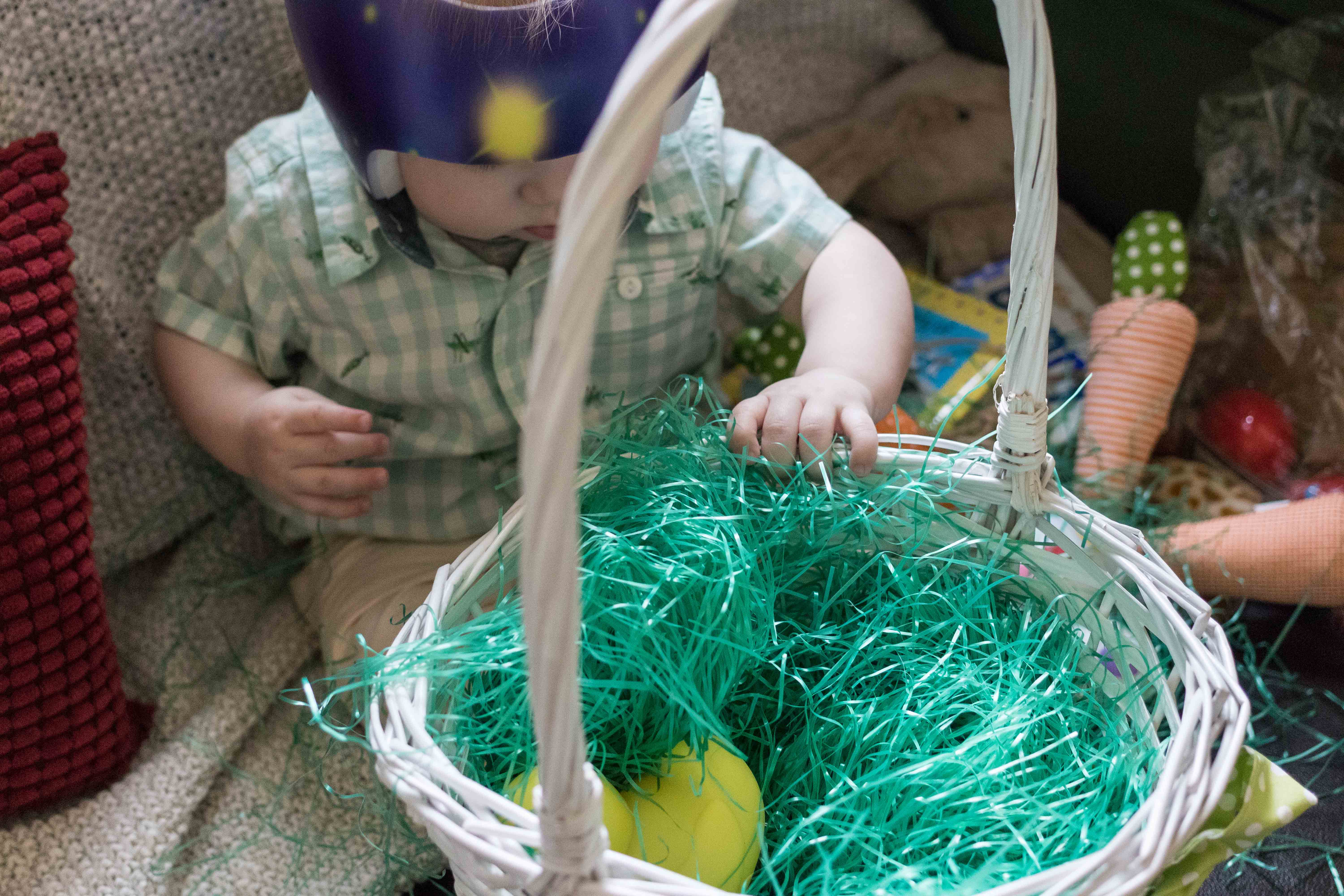 Tommy's First Easter | http://www.roseclearfield.com