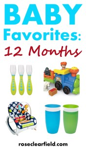 Baby Favorites: 12 Months | http://www.roseclearfield.com