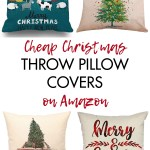 Cheap Christmas Throw Pillow Covers On Amazon Rose Clearfield