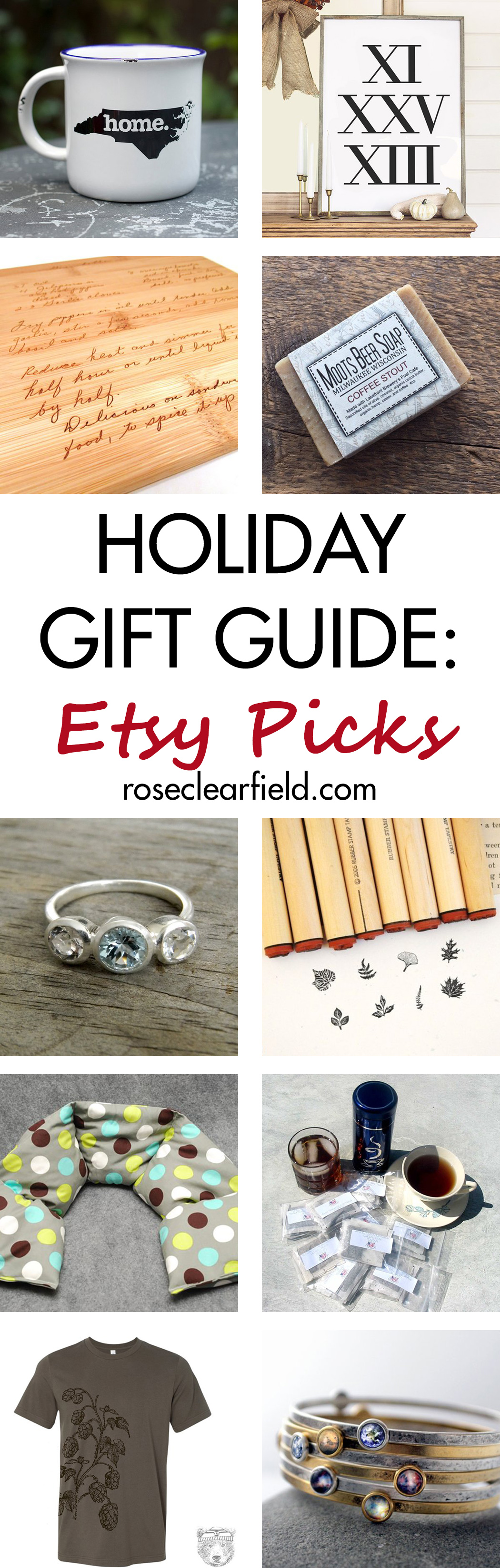 Holiday Gift Guide: Etsy Picks | http://www.roseclearfield.com