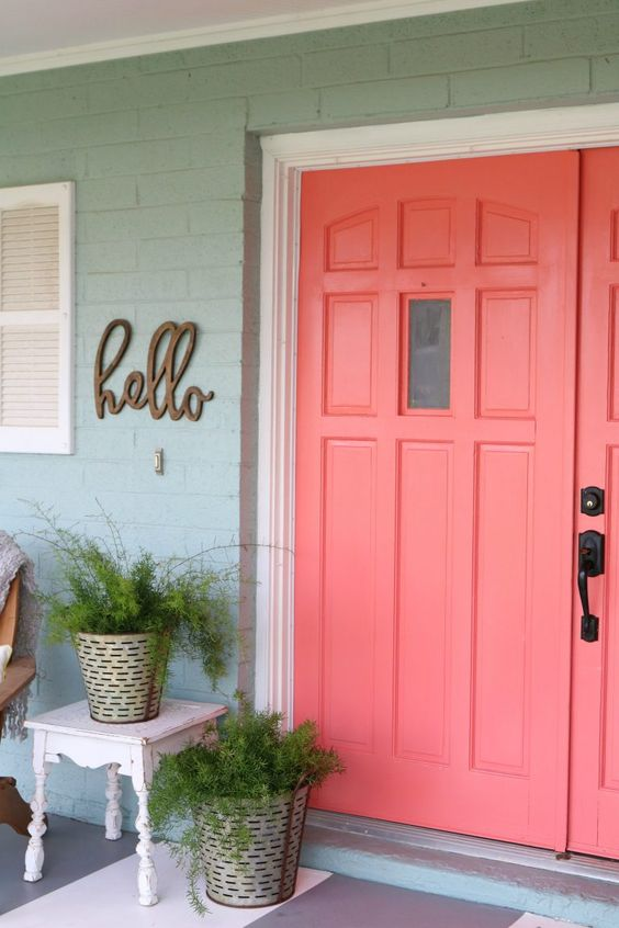 Living Coral Inspiration via Lolly Jane | https://www.roseclearfield.com
