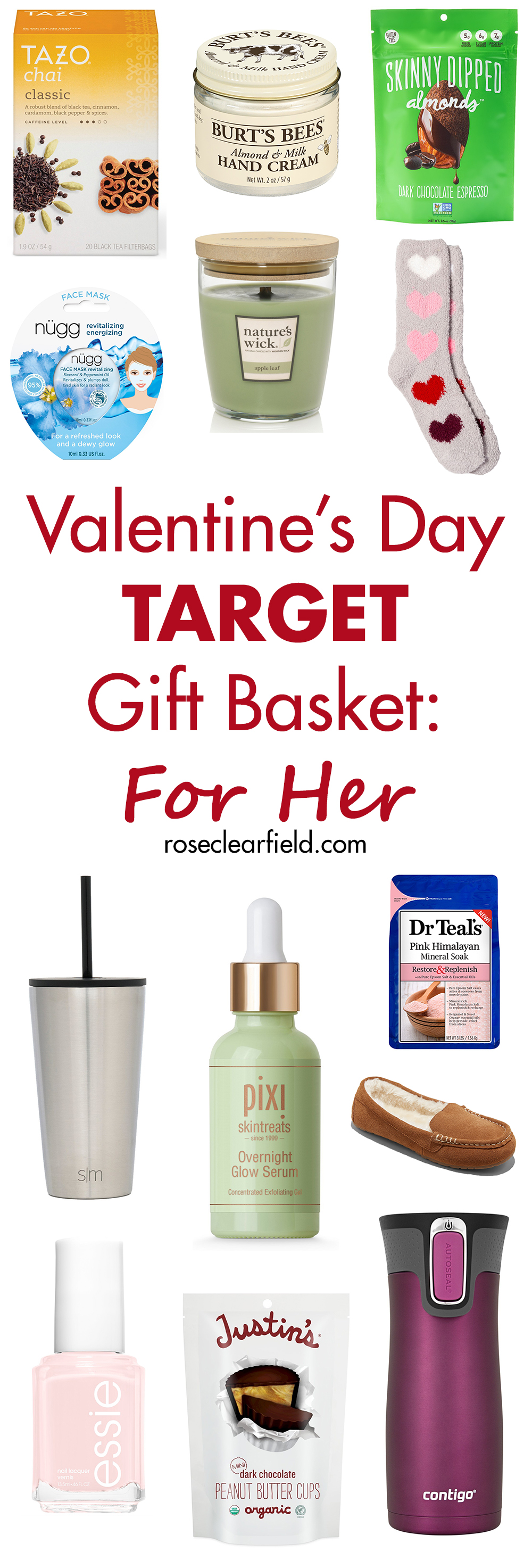 Valentine S Day Target Gift Basket For Her Rose Clearfield