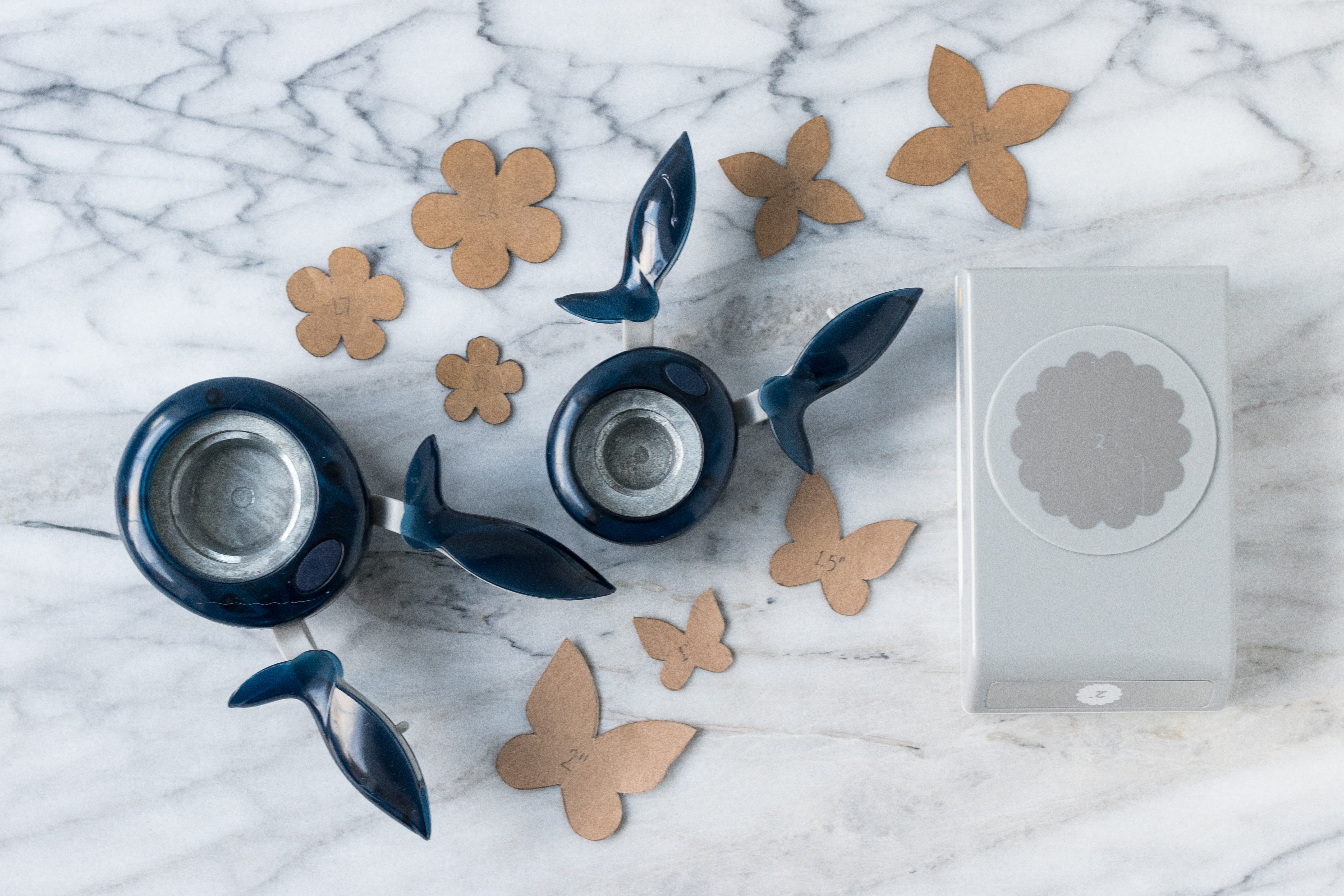 Paper punches and templates to create DIY scrapbook embellishments. #DIY #paperpunches #scrapbookembellishments | https://www.roseclearfield.com
