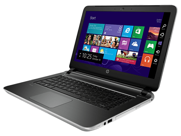HP Pavilion 14t Side with Optical