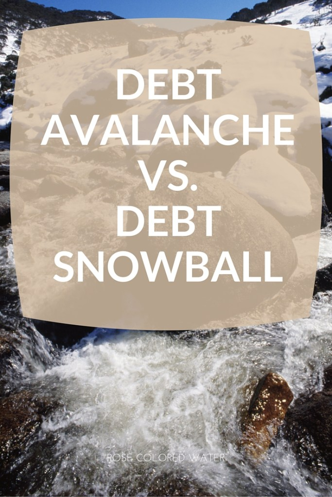 Debt Avalanche vs. Debt Snowball
