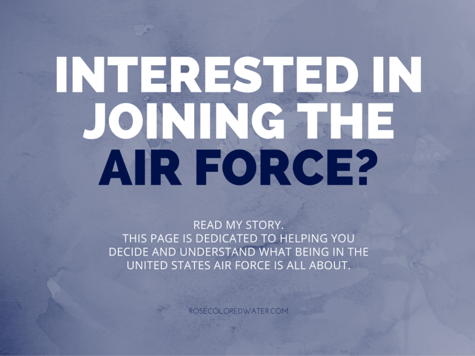 Everything you need to know about enlisting in the United States Air Force