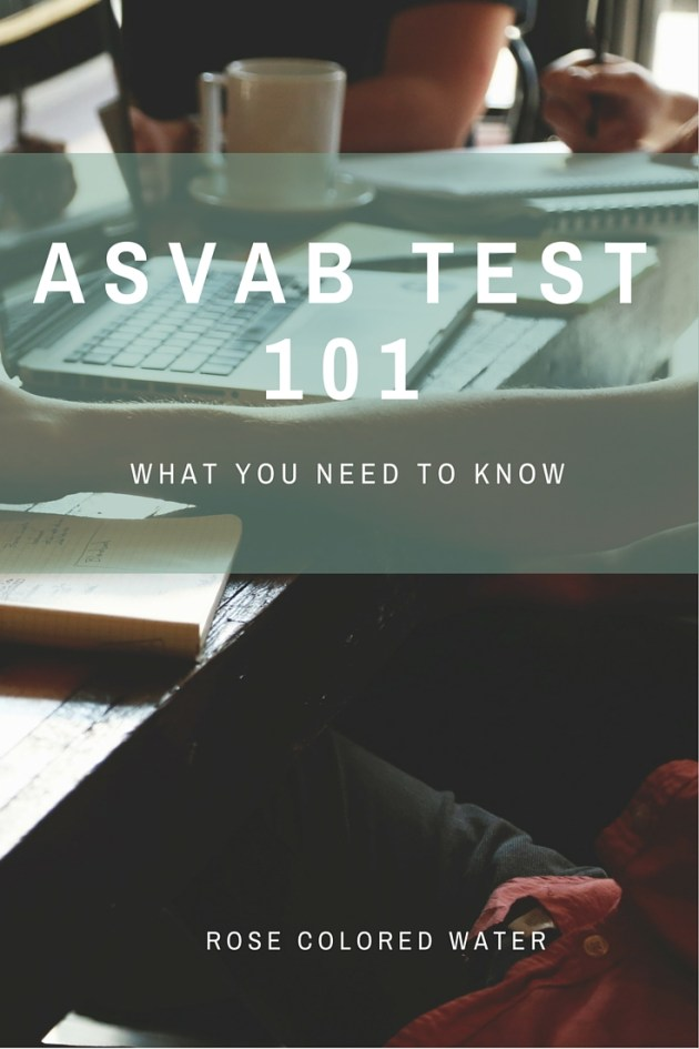 Taking the ASVAB. What you need to know.