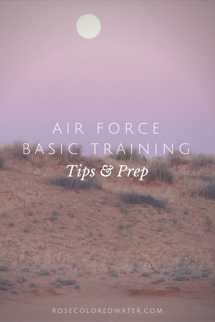 Air Force Basic Training and Preparation