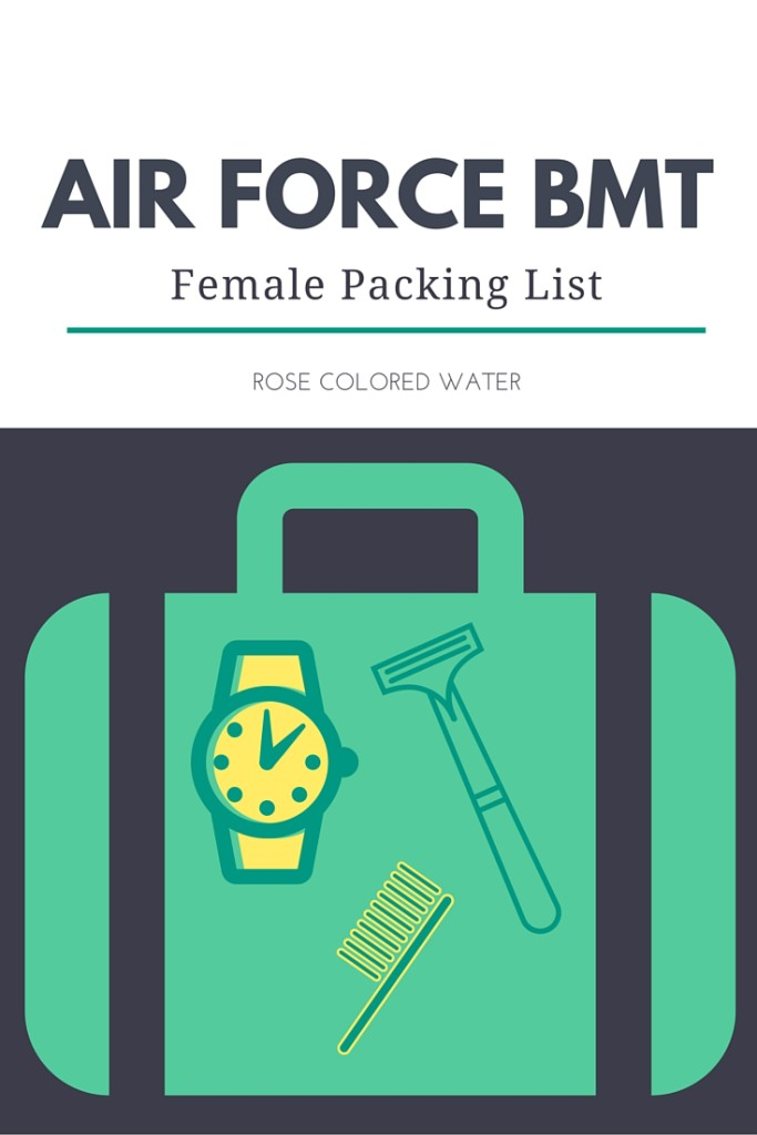 Air Force Basic Training Packing List for Women