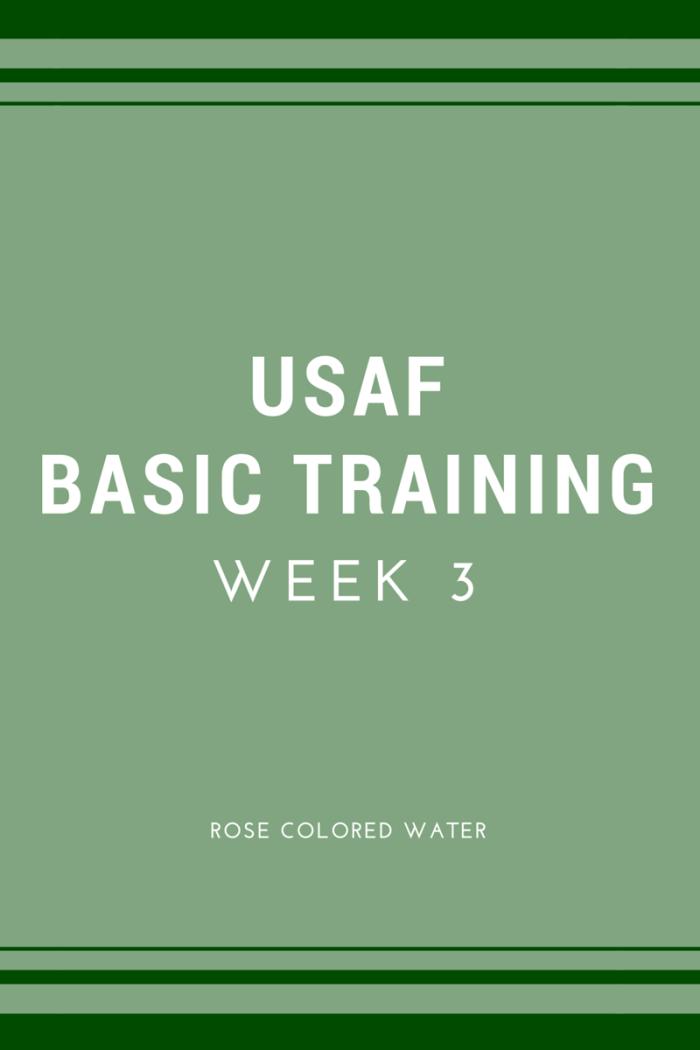 USAF BMT Week 3