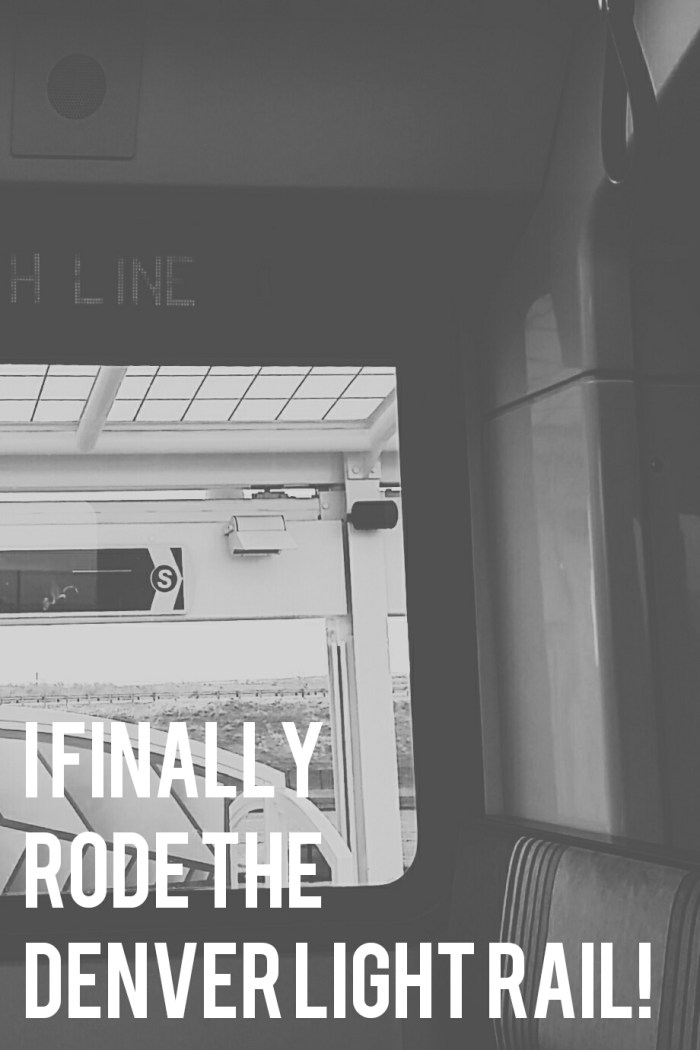 The H Line: Denver Light Rail - Public Transit | Rose Colored Water