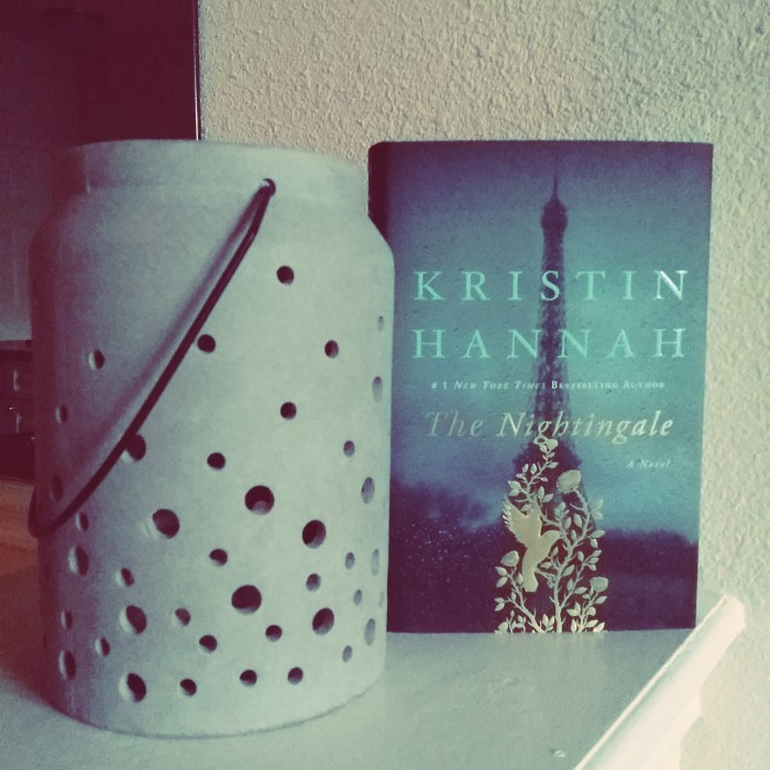 The Nightingale by Kristin Hannah #bookreview #worldwar2 | Rose Colored Water