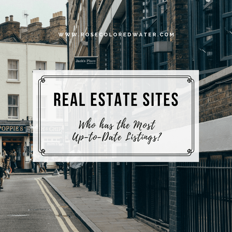 Which Site has the Most Updated Real Estate Listings?   Rose Colored