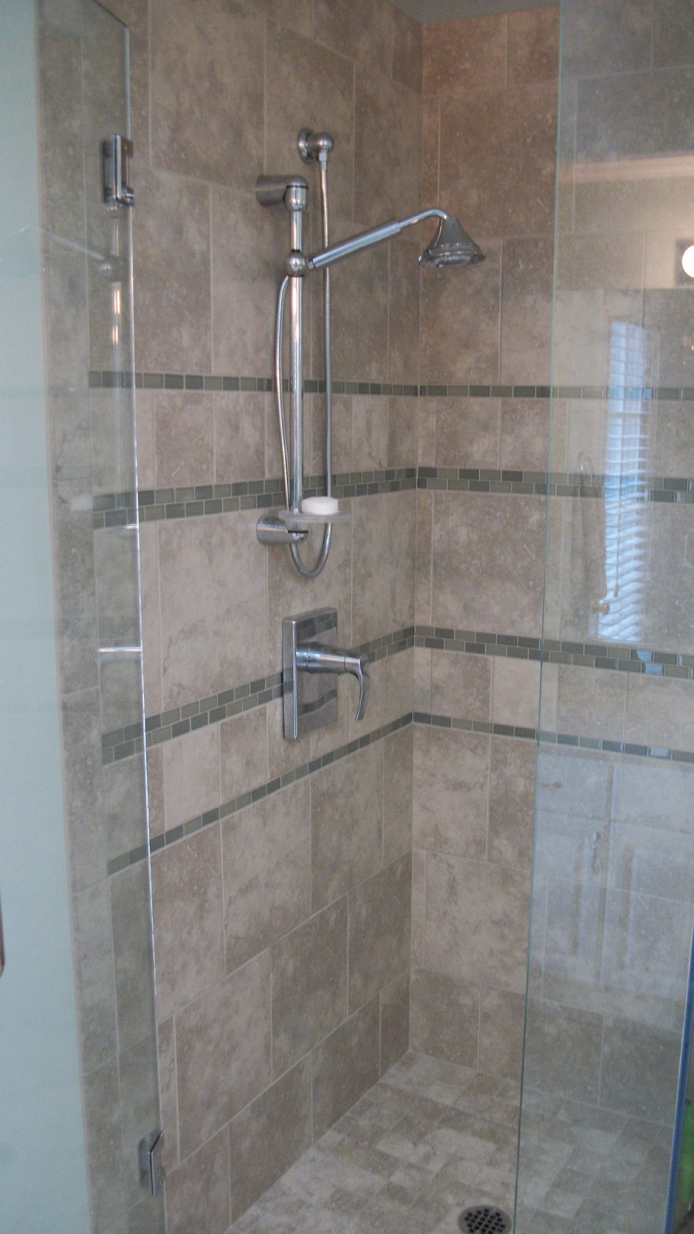 Bath remodel featuring Schon free standing tub  Rose