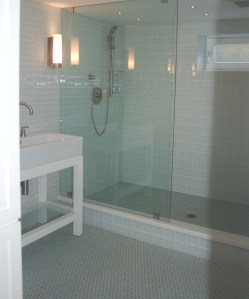 What is the best material for your bath flooring  Rose