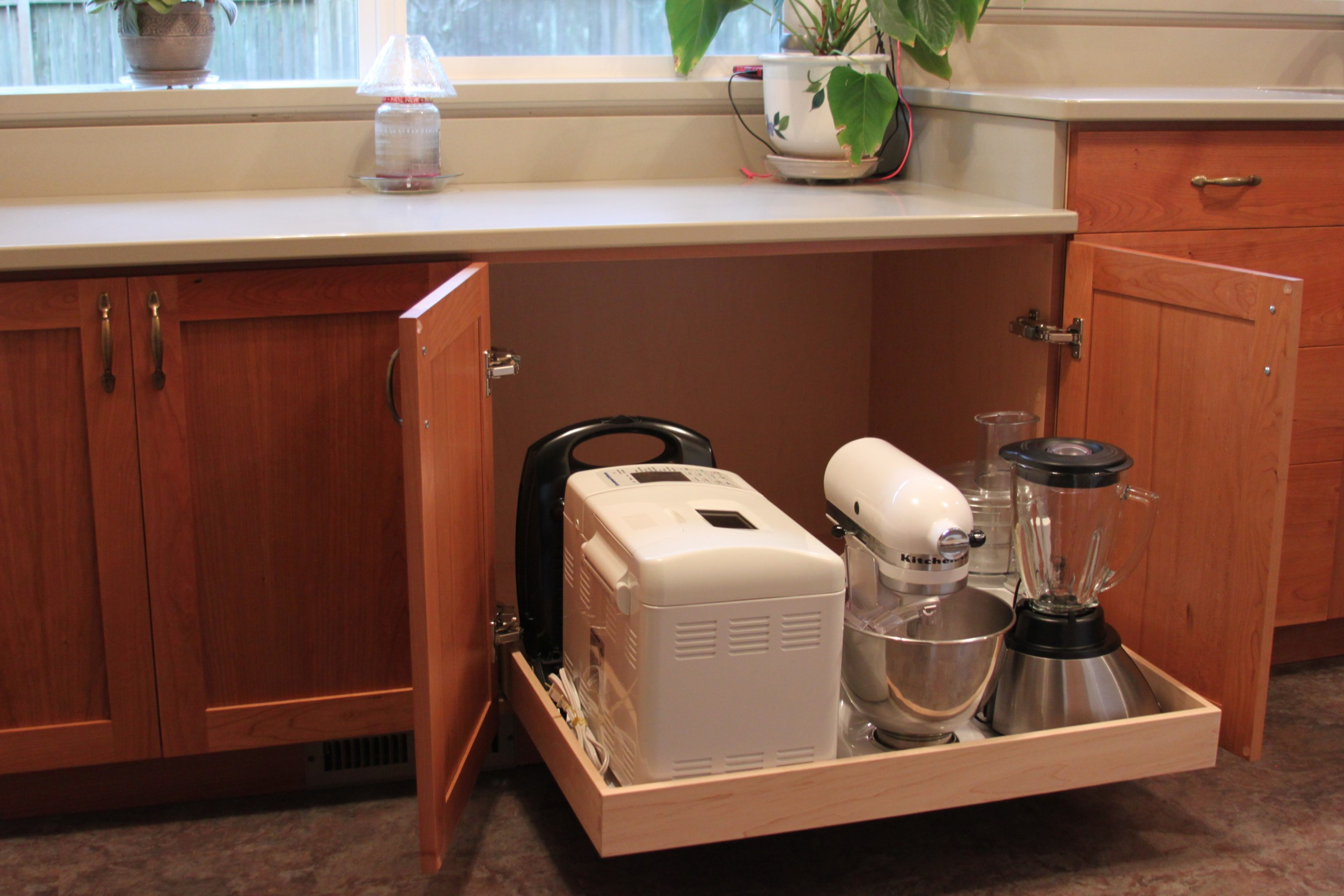 kitchen pull out drawers country style tables solutions to storage the modern day problem