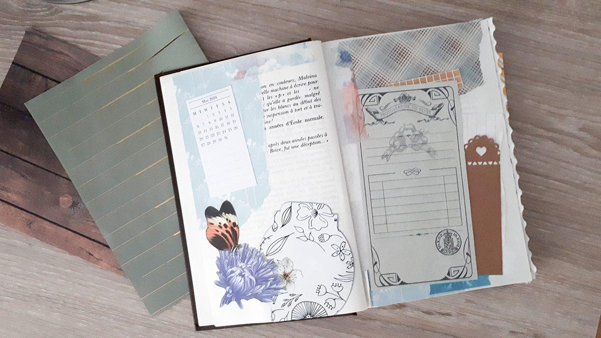 Art Journal pour développer sa créativité