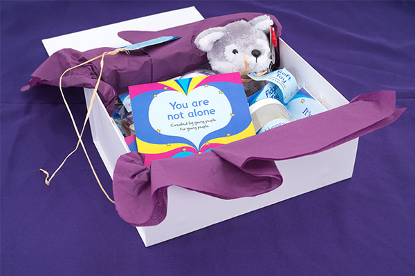 Smiles and Tears box from Nelson's Journey