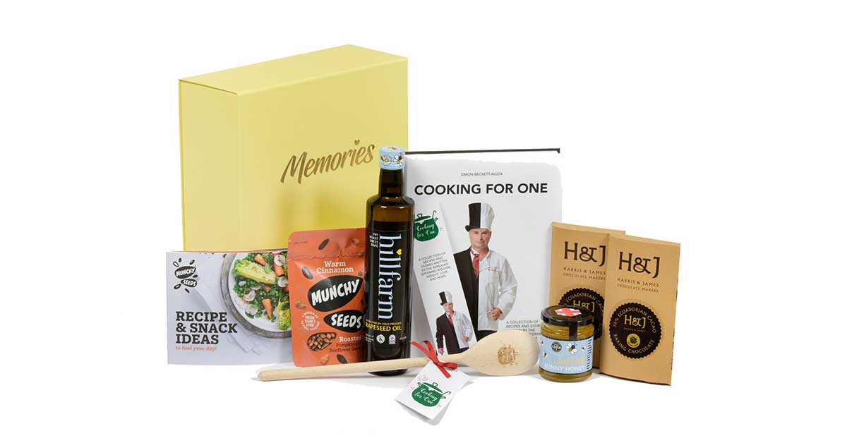 Cooking for One memory box for sale