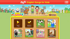 Aplikasi Kids Song English