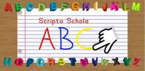 Aplikasi Scripto Schola Write the ABC