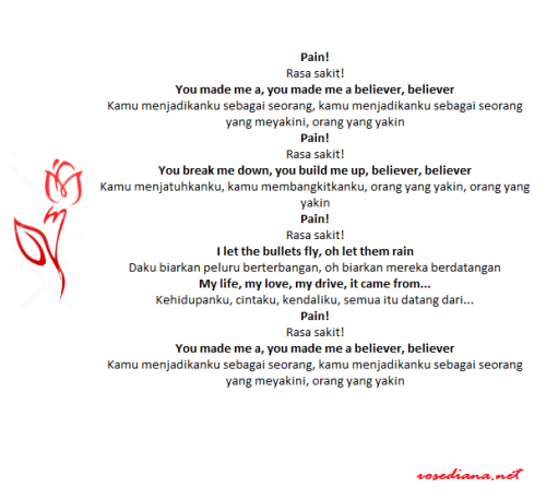 chorus believer imagine dragon, review lagu imagine dragons, makna lagu imagine dragons, arti lagu imagine dragons, terjemahan lagu imagine dragons, believer imagine dragons, kata-kata lagu barat, quotes lagu barat, quotes lagu imagine dragon,