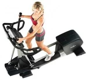 woman using Elliptical machine 2