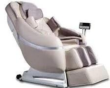 white massage chair