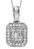 Gemsone Diamond Pendant