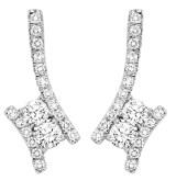 Gemsone TWOgether Diamond Earrings