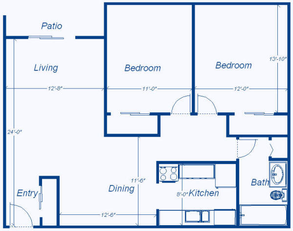 750 Sq Ft Apartment Floor Plan Home Decoration