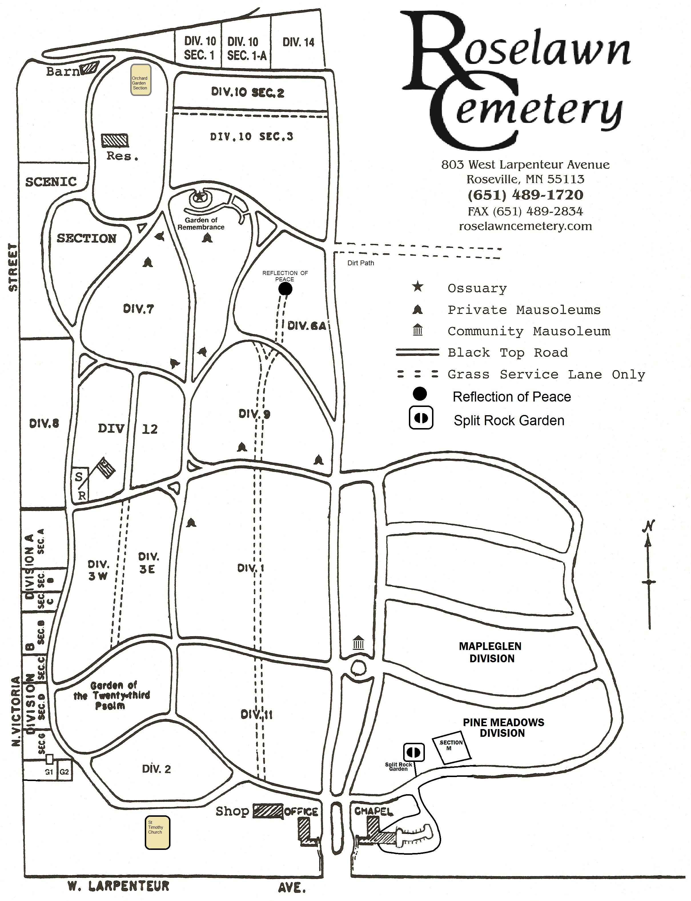 Burial Maps Amp Lot Ownership Locations