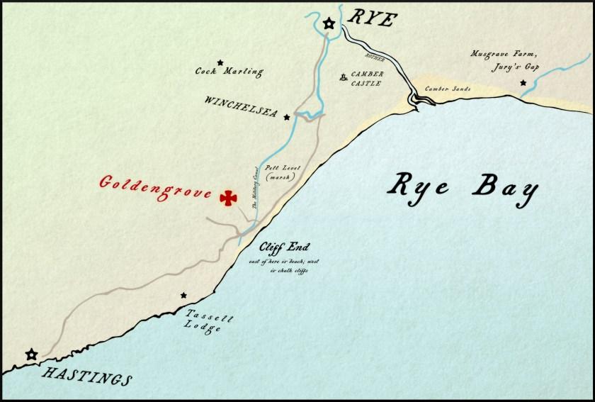 Map of Rye Bay