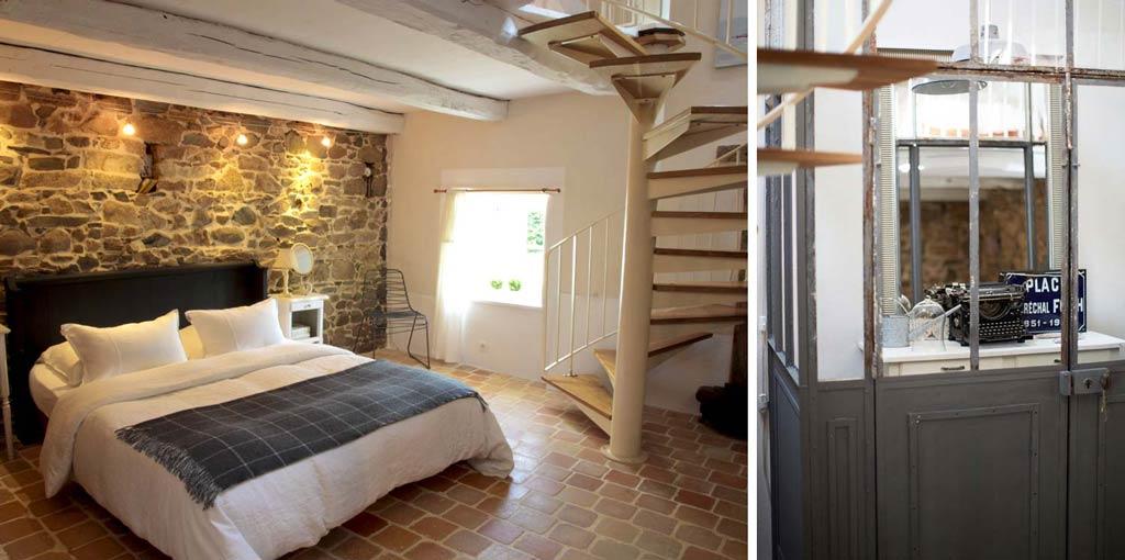 Schickes kleines Ferienhaus mit Garten in der Bretagne