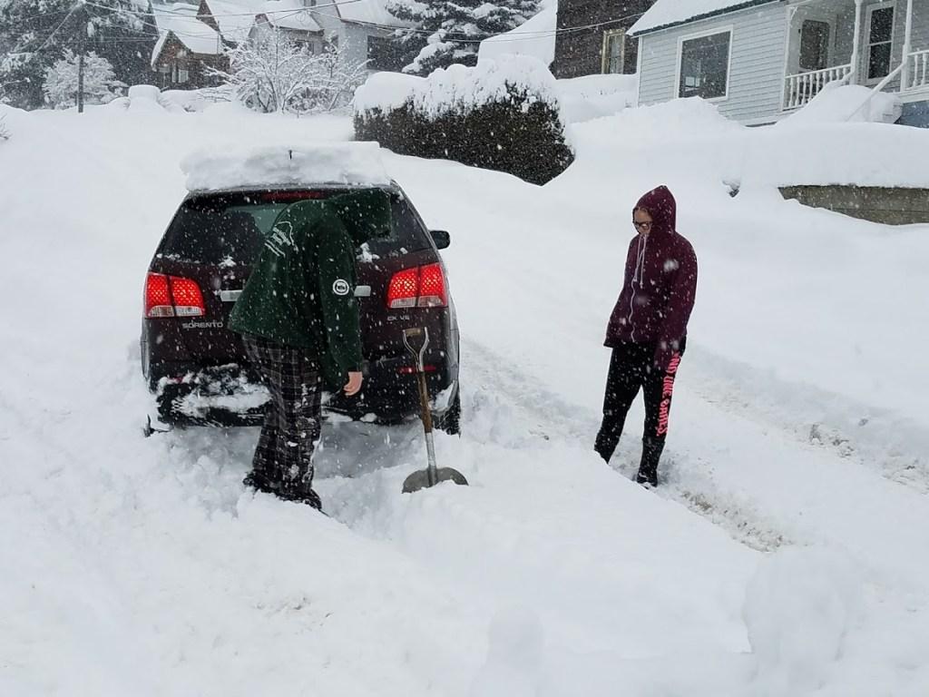 roslyn wa snow