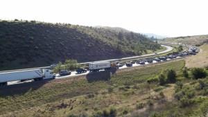 I-90 Memorial Day traffic
