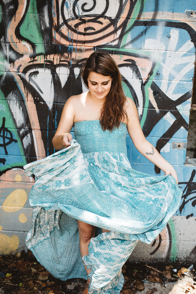 Rosemary & Time | Wardrobe Confidential 13 Blue Dress-6
