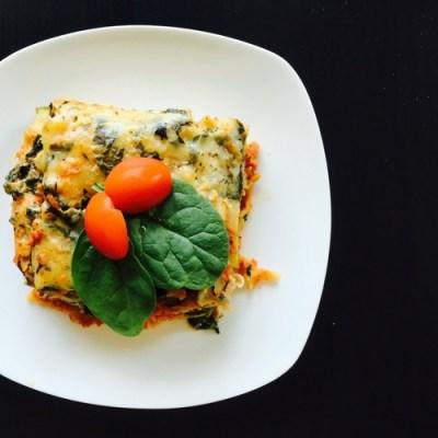 Healthy Twist Vegetable Lasagna
