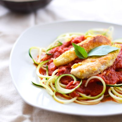 Whole30 Chicken and Zoodles