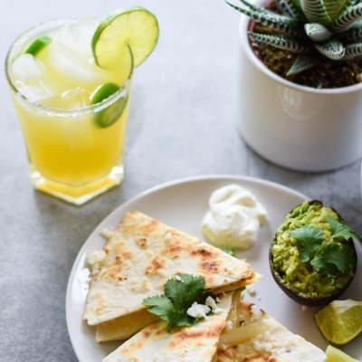Cinco De Mayo Vegetable Quesadillas