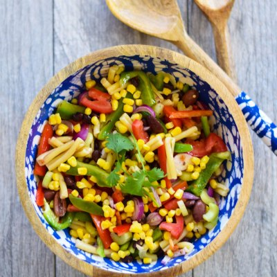 Summer Pasta Salad for Memorial Day