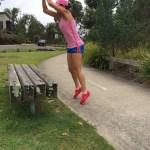 Bench leaps