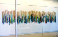 'Over the Harbor' | wood stick sculpture | rosemary pierce ...