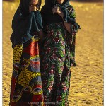 Touareg girls Sahara desert