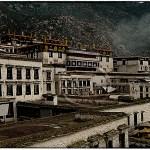Drepung Monastery near Lhasa Tibet