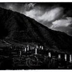 medieval defensive towers of Caucasus Mts.