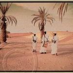 Gnawa musicians in Erg Chebbi Morocco