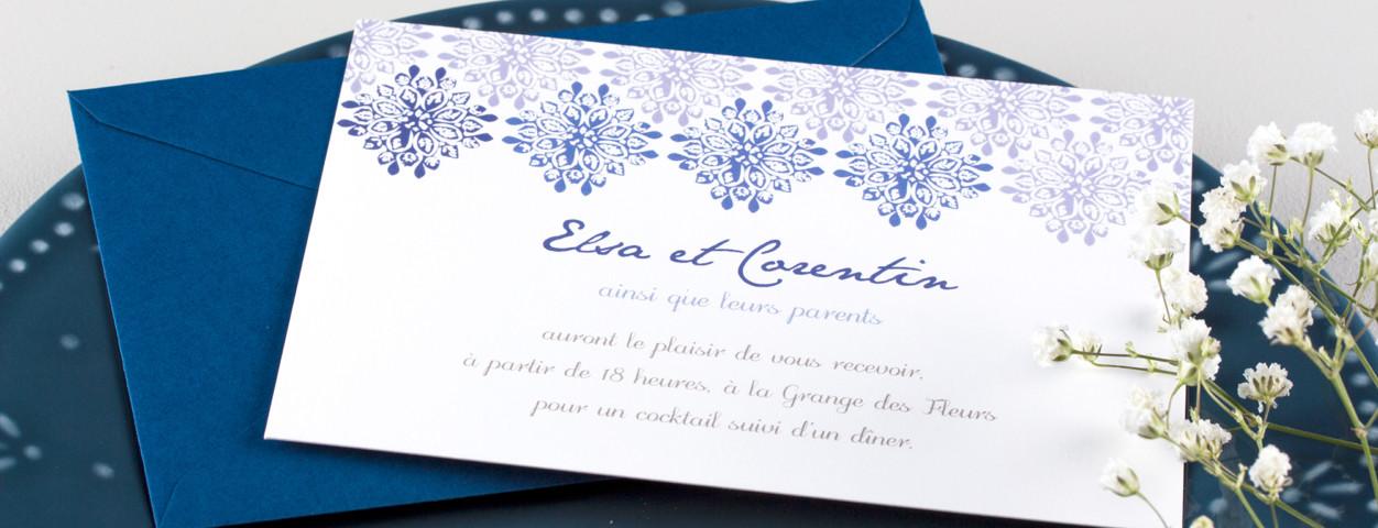 exemple de carte d invitation pour
