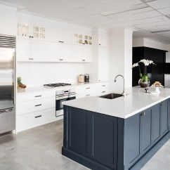 Kitchen Showroom Glass Inserts For Cabinets How To Splurge And Save On A Renovation Essendon Image
